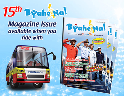 Byahe na! 15th Issue, now available!